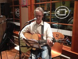 Dave Fiebert at the Coffee Beanery