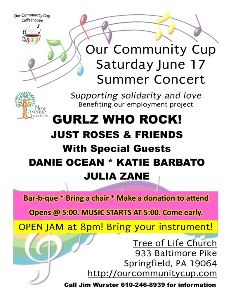 Our Community Cup Outdoors June 17